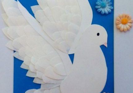 Флешмоб «Голубь мира»